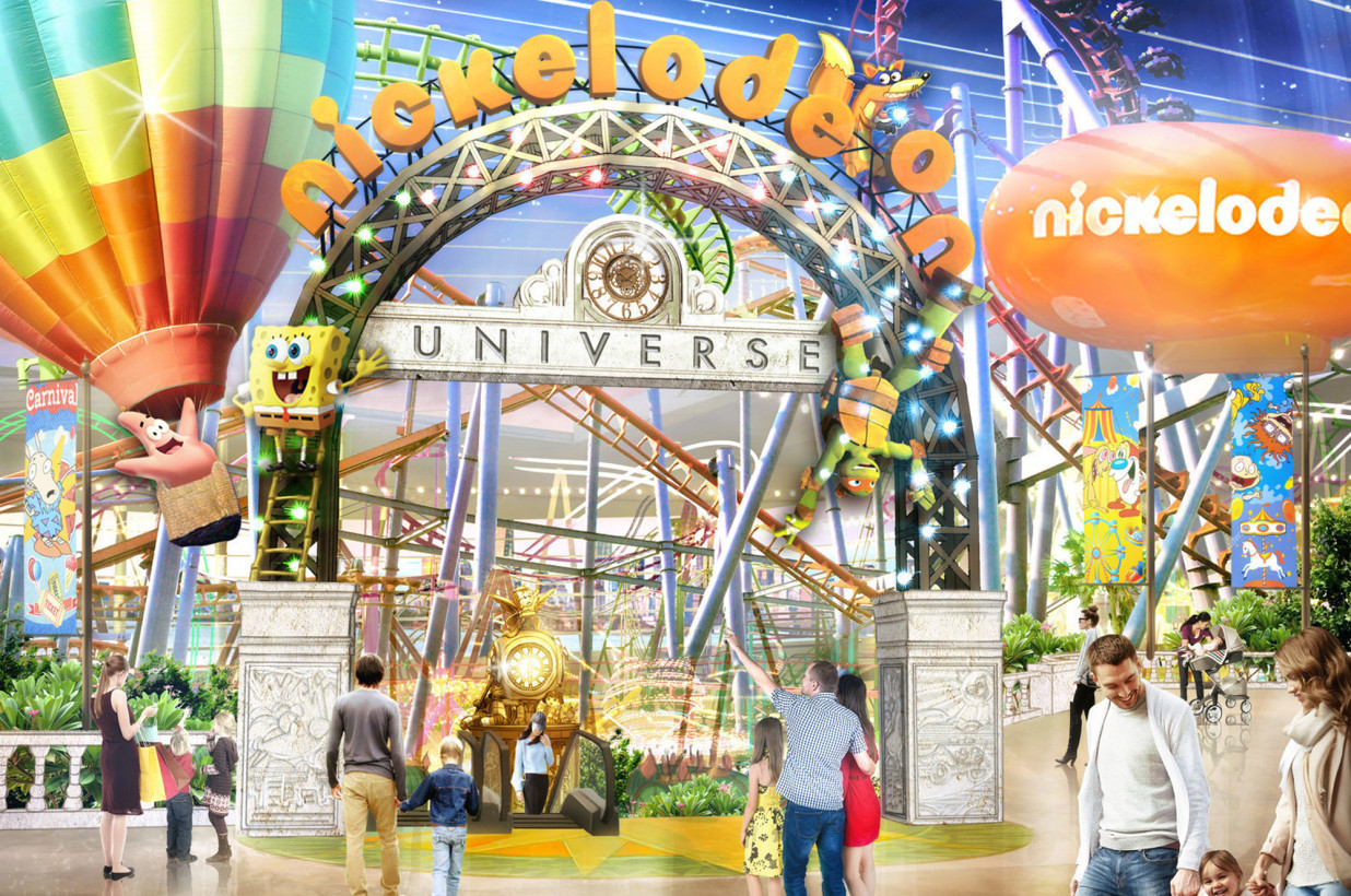 Nickelodeon Universe Theme Park To Open American Dream