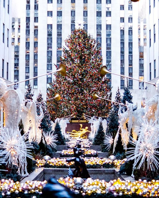 Holiday Tree Lightings In Nyc 7days