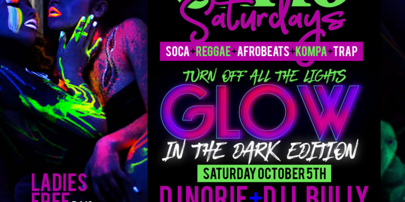 Carib Saturdays: Glow In the Dark Edition