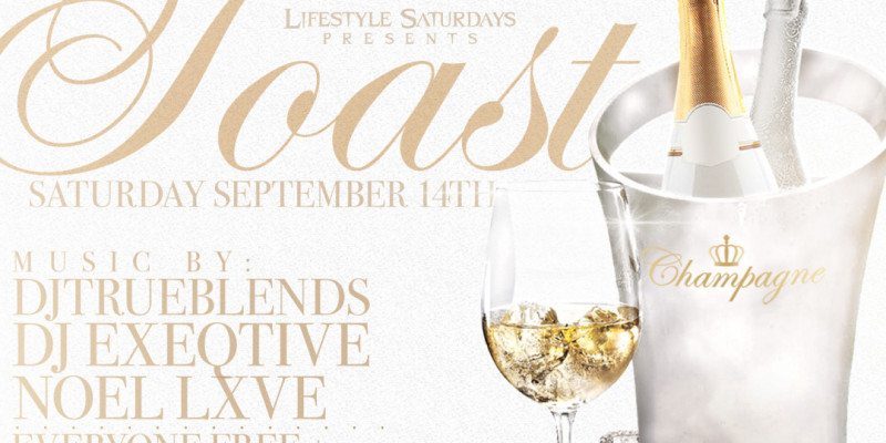 Lifestyle Saturdays Presents: TOAST