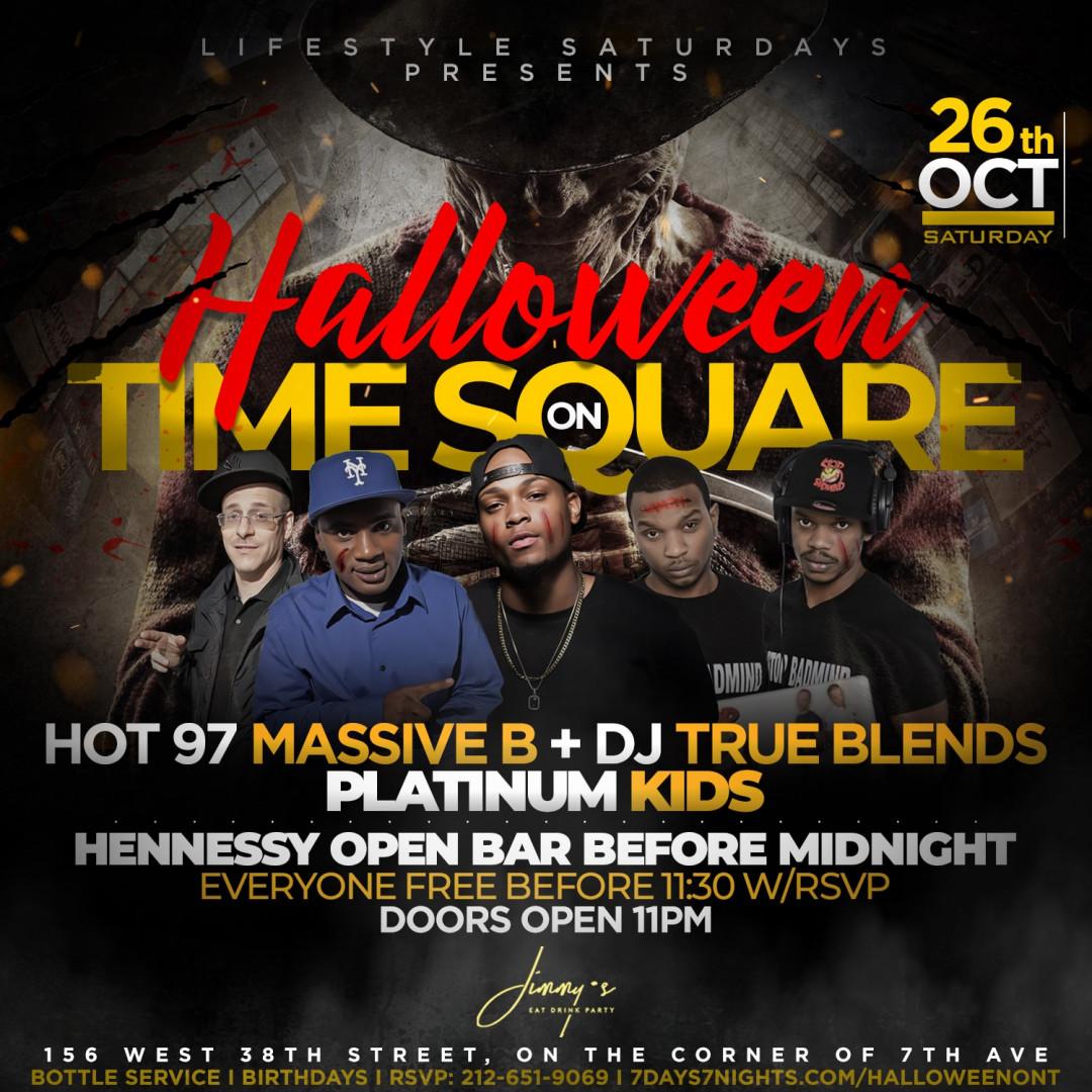 Lifestyle Saturdays Presents: HALLOWEEN ON TIMES SQUARE