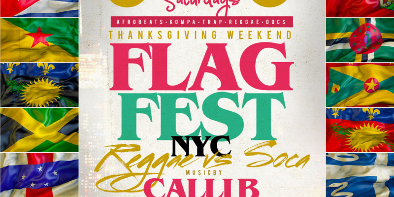 Carib Saturdays Flag Fest At SOB's