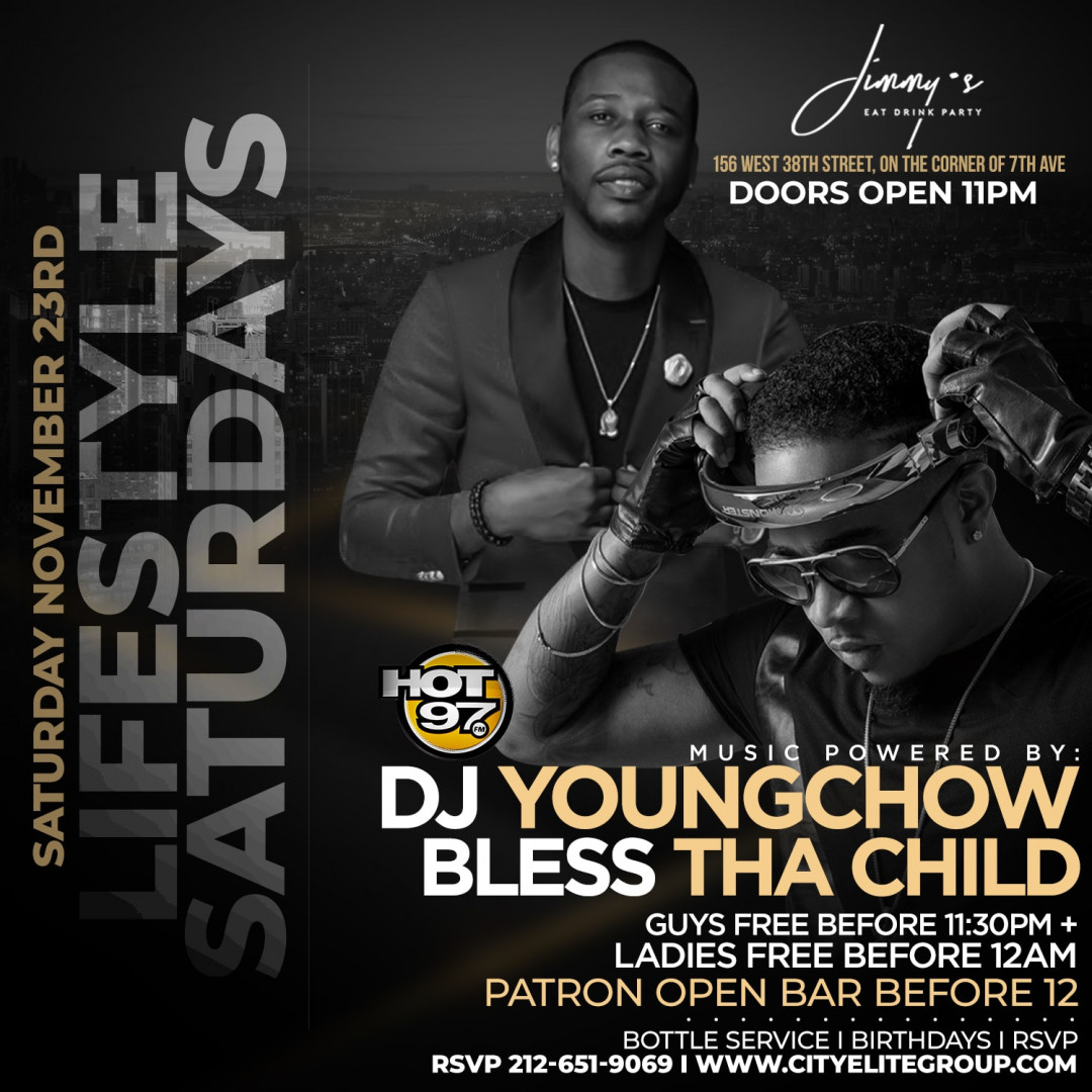 Lifestyle Saturdays @ Jimmy's