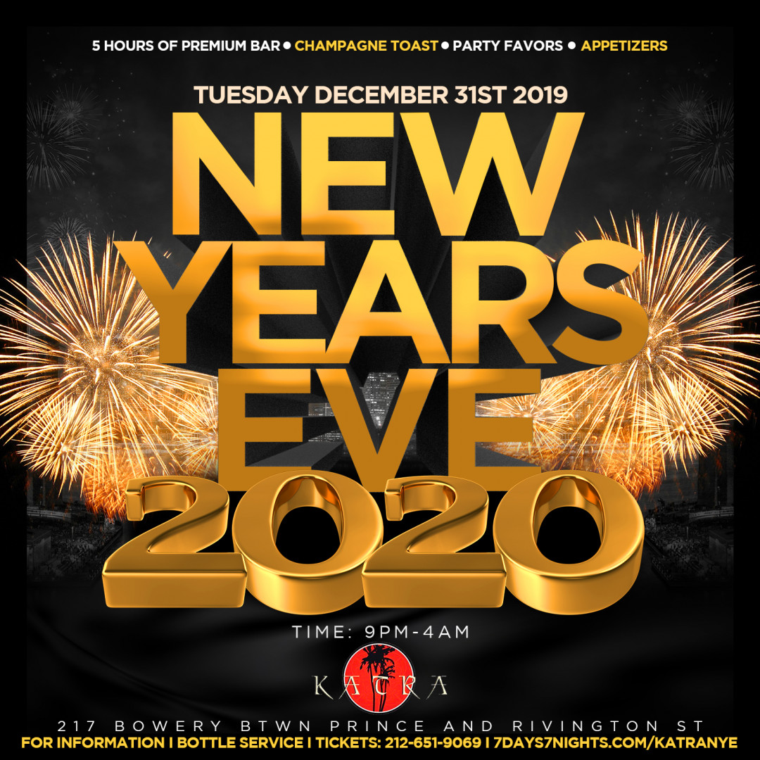 New Years Eve 2020 At Katra Nyc
