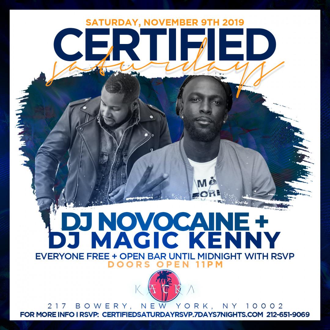 Certified Saturdays @ Katra