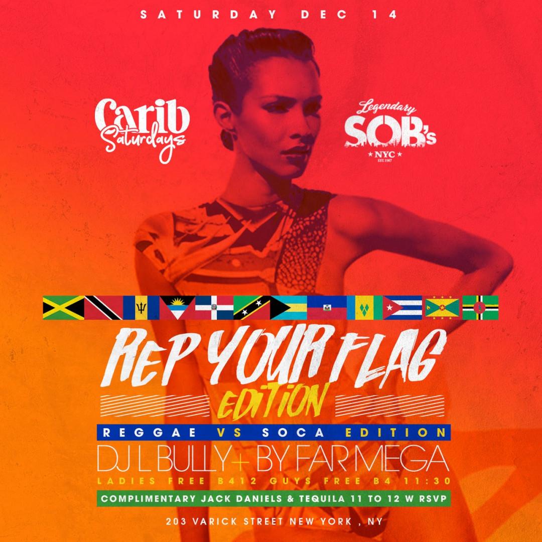 Carib Saturdays: Rep Your Flag Edition