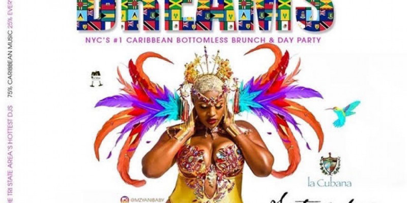 The Return of Caribbean Dreams Bottomless Brunch & Day Party