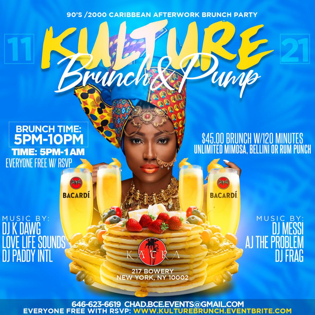 Kulture Brunch & Pump