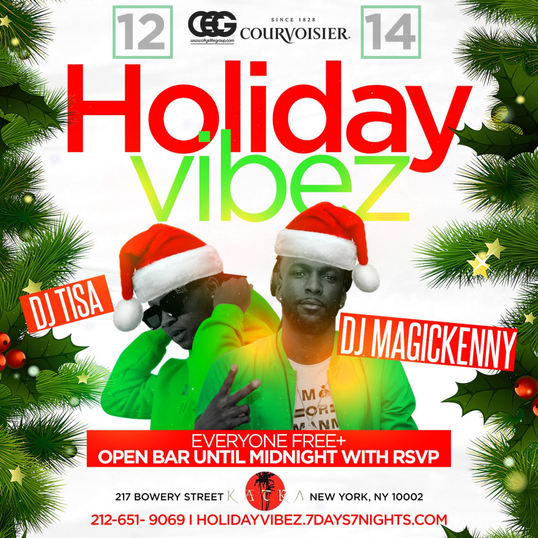 Certified Saturdays Presents: Holiday Vibez