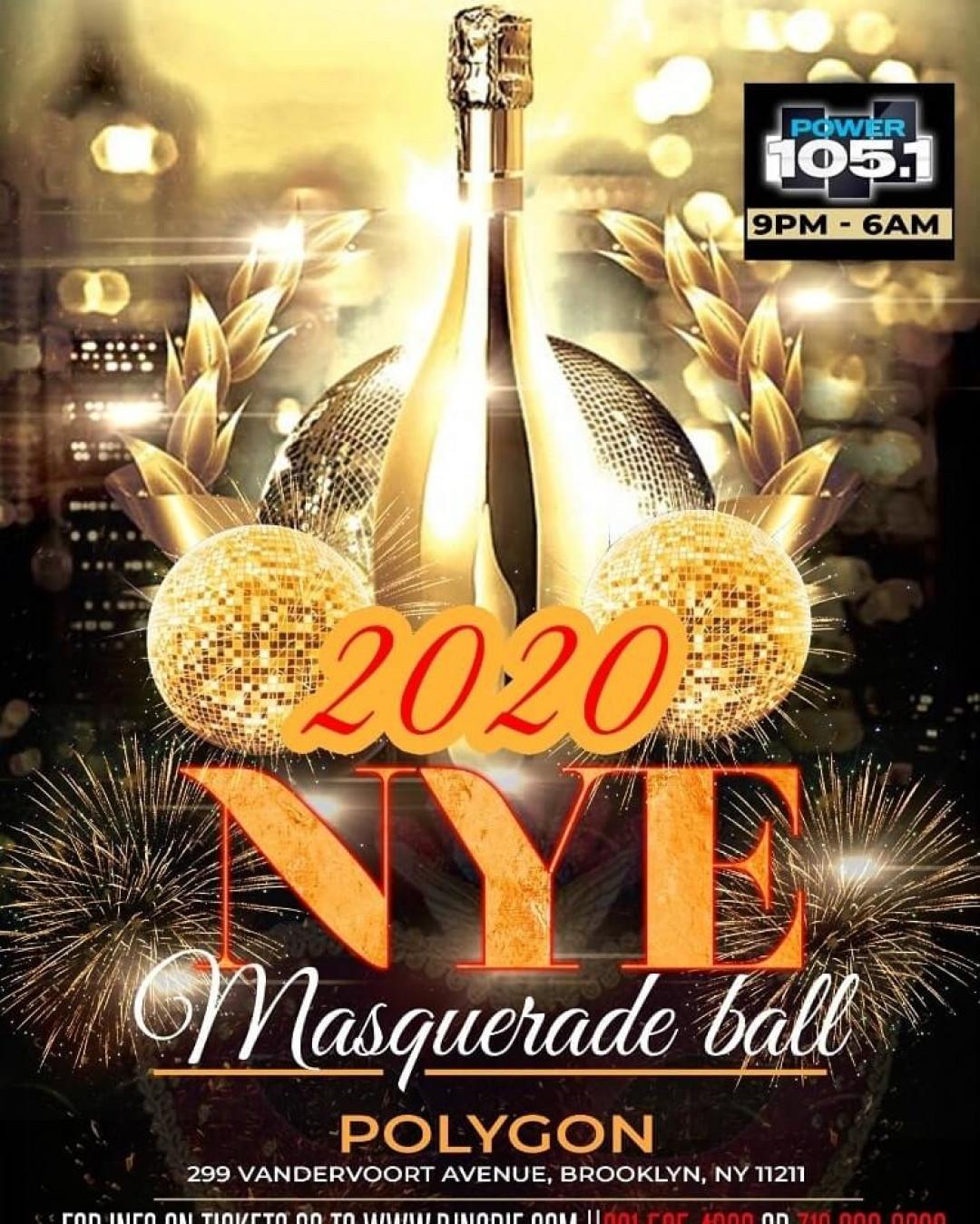 POWER 105.1FM NYE MASQUERADE