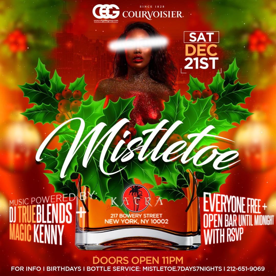 Certified Saturdays Presents Mistletoe @ Katra