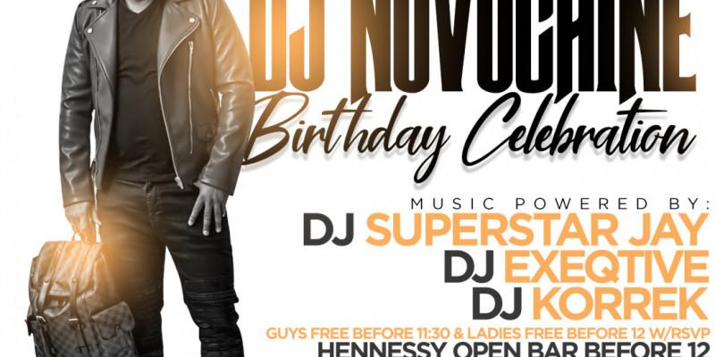 Lifestyle Saturdays Presents: DJ NOVOCAINE'S BIRTHDAY CELEBRATION