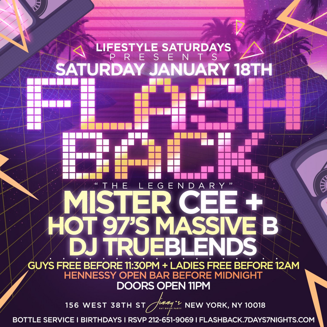 Lifestyle Saturdays Presents: FLASHBACK