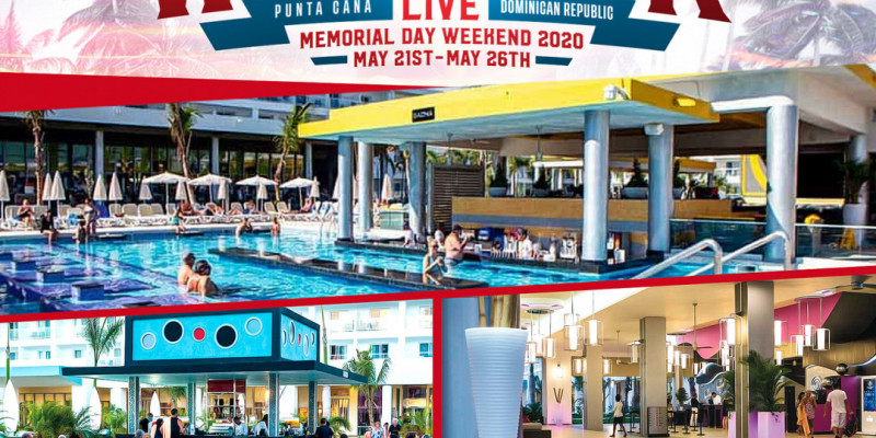 WeAreDRLive2020 in Punta Cana, Dominican Republic May 21-26th- Memorial Day Weekend!