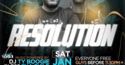 Lifestyle Saturdays Presents: RESOLUTION
