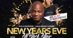NEW YEARS EVE ALL BLACK AFFAIR