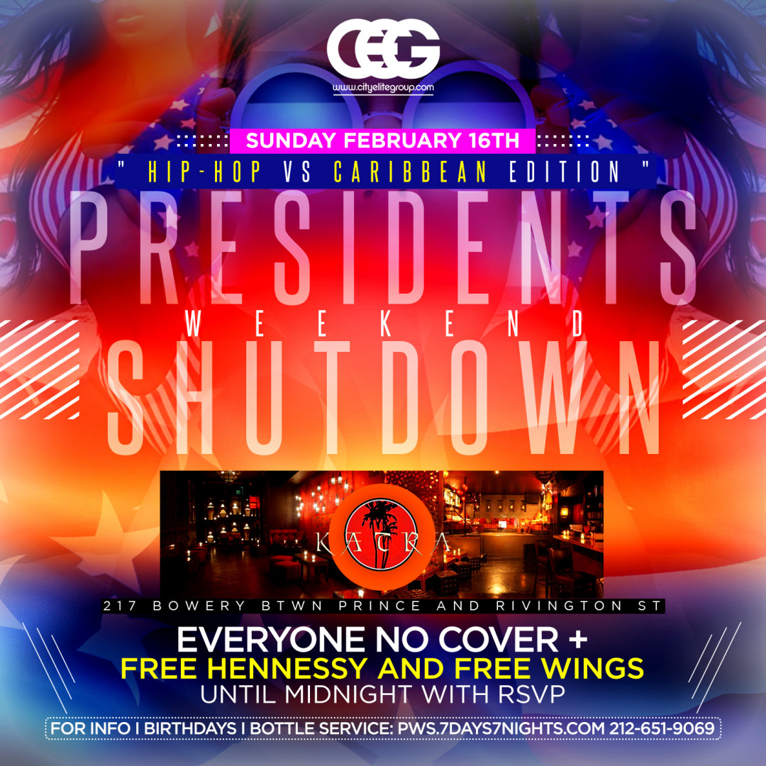 President Weekend Shutdown: Hip Hop vs Caribbean