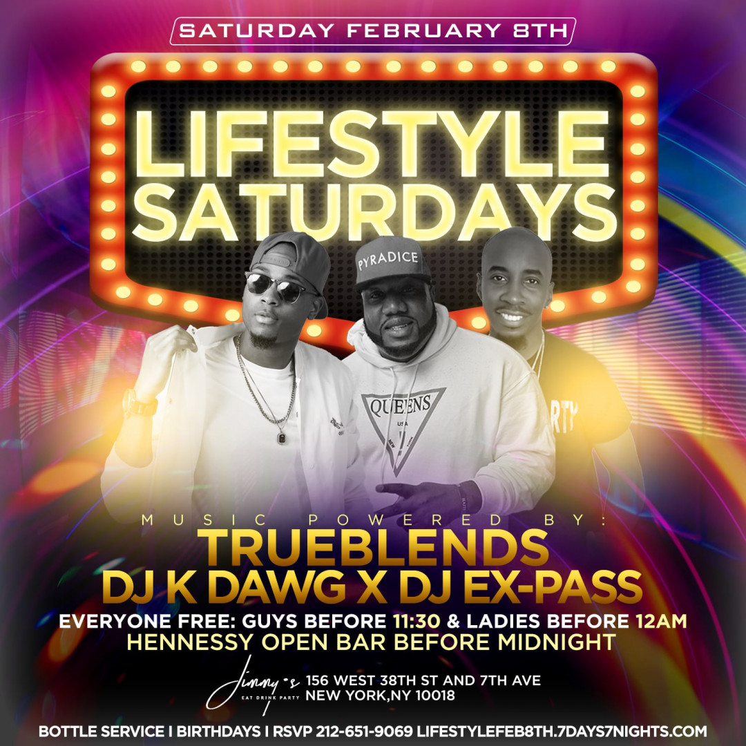 Lifestyle Saturdays w| HENNY OPEN BAR