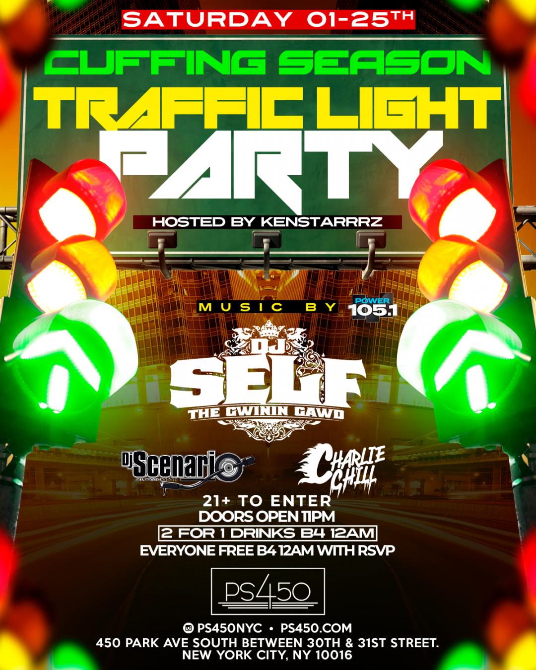 Traffic Light party DJ Self Hosted By Ken Starrrz