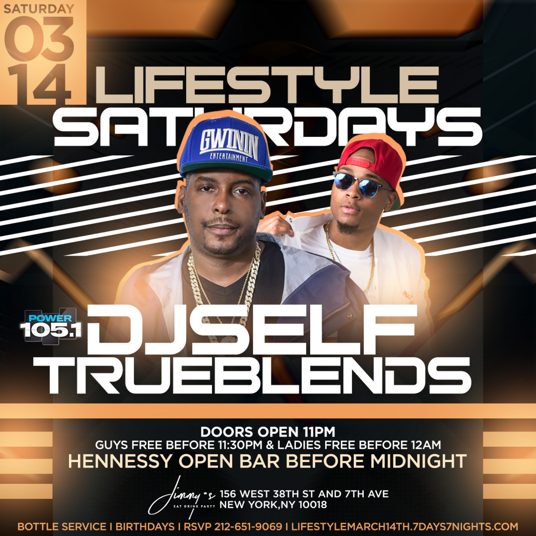 Power 105.1 Dj Self Invades jimmys With Hennessy Open Bar