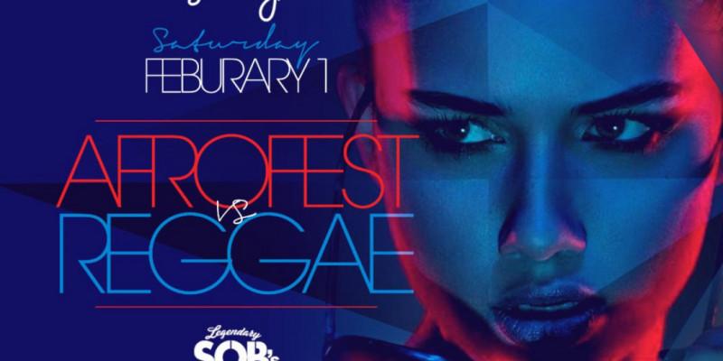 Carib Saturdays Presents: AFROFEST VS REGGAE