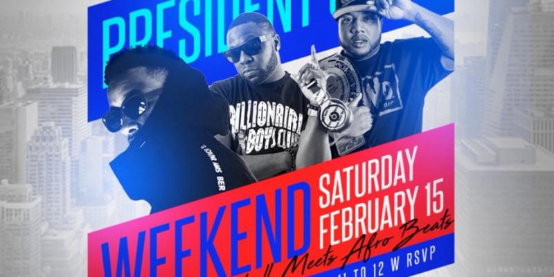 Carib Saturdays Presents: PRESIDENT'S DAY WEEKEND - KOMPA & DANCEHALL MEETS AFROBEATS