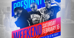 Carib Saturdays Presents: PRESIDENT'S DAY WEEKEND - KOMPA & DANCEHALL MEETS AFROBEATS