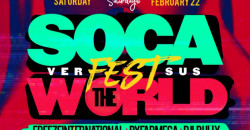 Carib Saturdays Presents: SOCAFEST VS THE WORLD