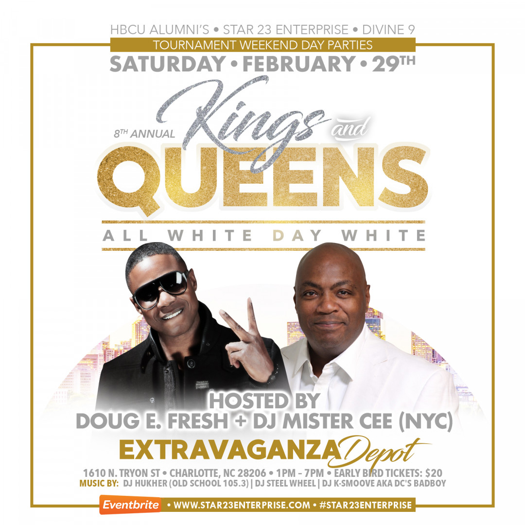 KINGS & QUEENS ALL WHITE DAY PARTY