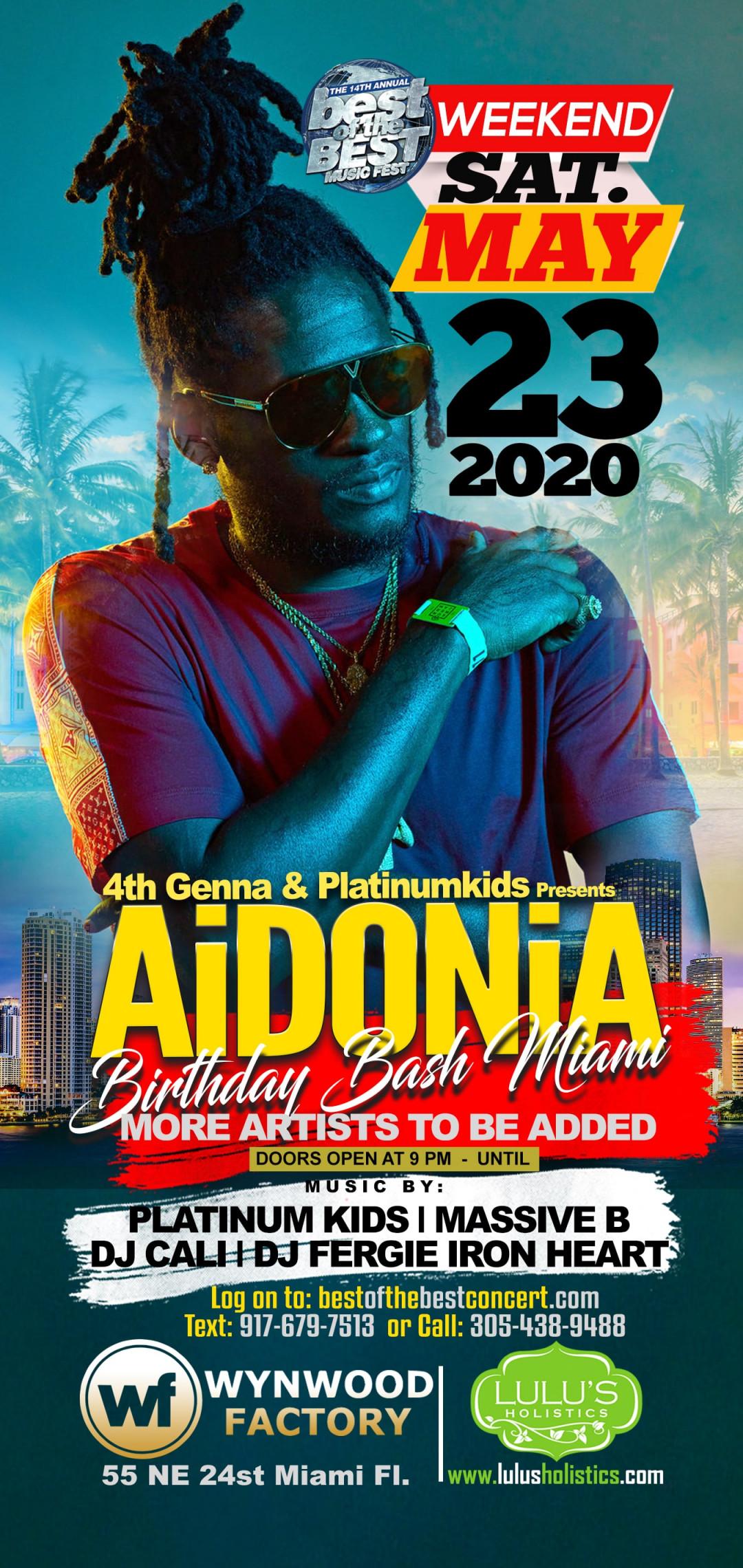 Aidonia Celebrity Birthday Bash MIAMI Edition
