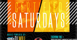 Certified Saturdays @ Katra w| POWER 105'S DJ WILL + OPEN BAR