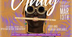 """Unity"" Afro-Caribbean Music Meets Hip-Hop/R&B Party"