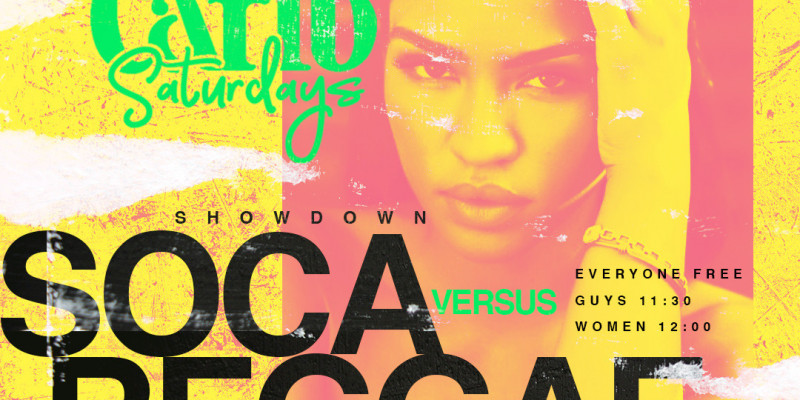 Carib Saturdays Presents: SOCA vs REGGAE SHOWDOWN at SOBs