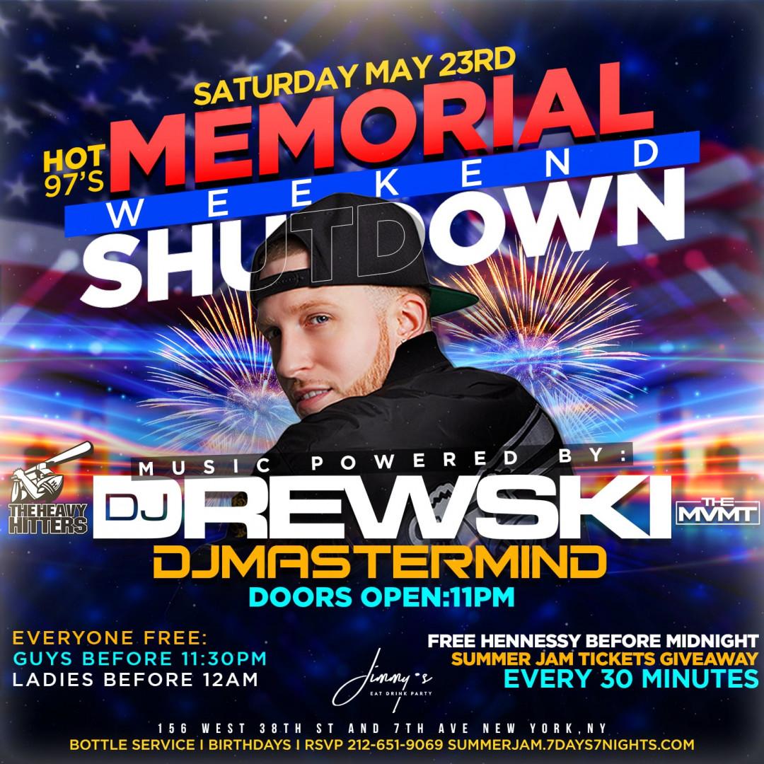 HOT 97 Memorial Weekend Shutdown W| Summer Jam Ticket Giveaway