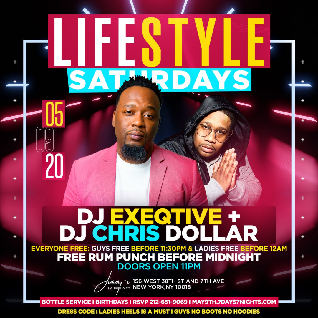 Lifestyle Saturdays At Jimmy's w| Free Rum Punch