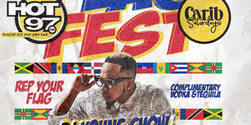 Carib Saturdays Presents: FLAG FEST w| FREE VODKA & TEQUILA