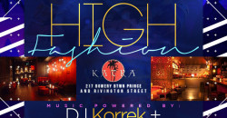 Certified Saturdays Presents: HIGH FASHION | EVERYONE FREE + OPEN BAR