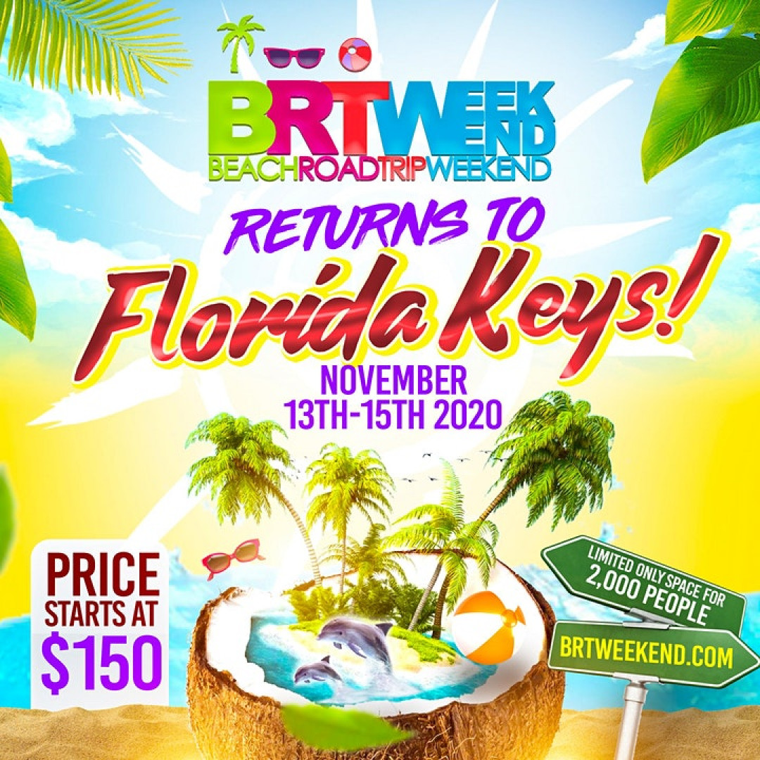 BRT Weekend Florida Keys  Beach Music Festival | November 2020