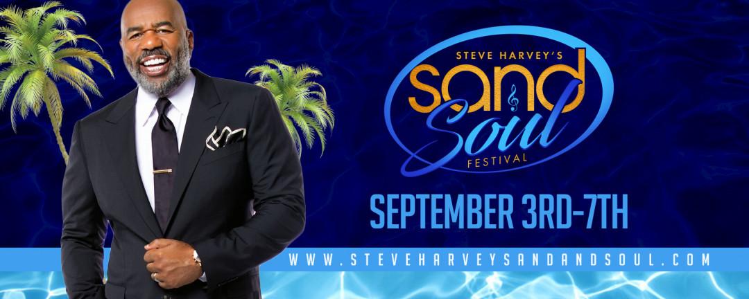 Steve Harvey Sand and Soul Festival With Lisa Raye