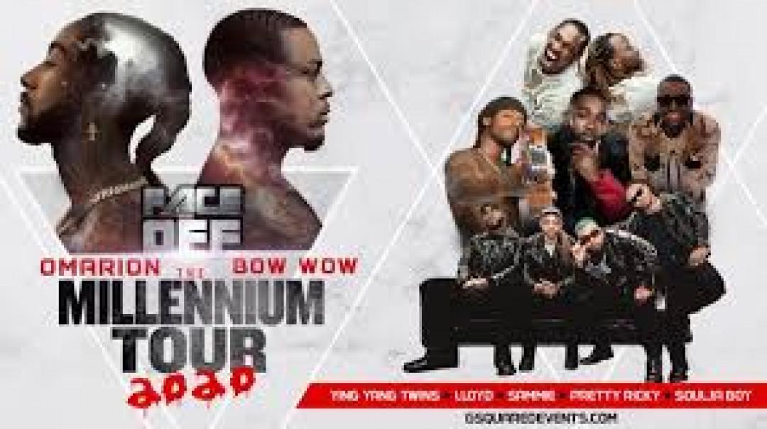 The Millennium Tour 2020 W/ omarion , bow wow