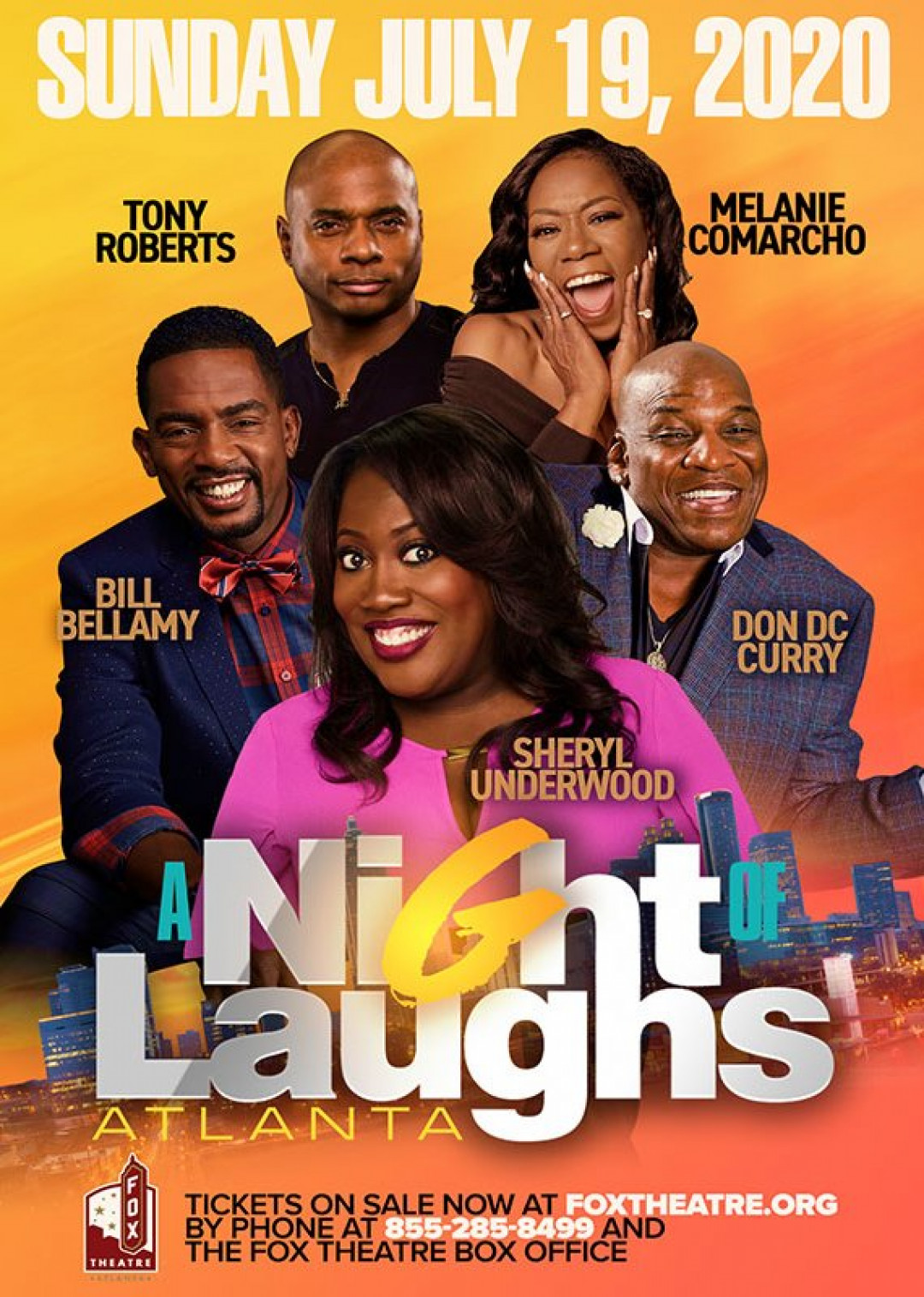 A Night Of Laughs With Sheryl Underwood , Bill Bellamy , Tony Roberts In Atlanta