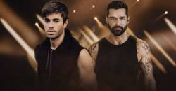 Enrique Iglesias and Ricky Martin At Madison Square Garden