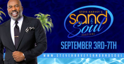Steve Harvey Sand and Soul Festival With Lisa Raye
