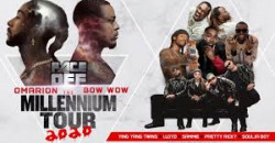 The Millennium Tour 2020 W/ omarion , bow wow