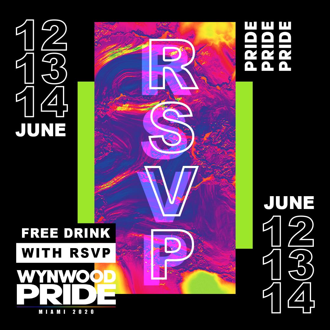 Wynwood Pride 2020 - LGBT QIA + PRIDE & Miami Music Festival