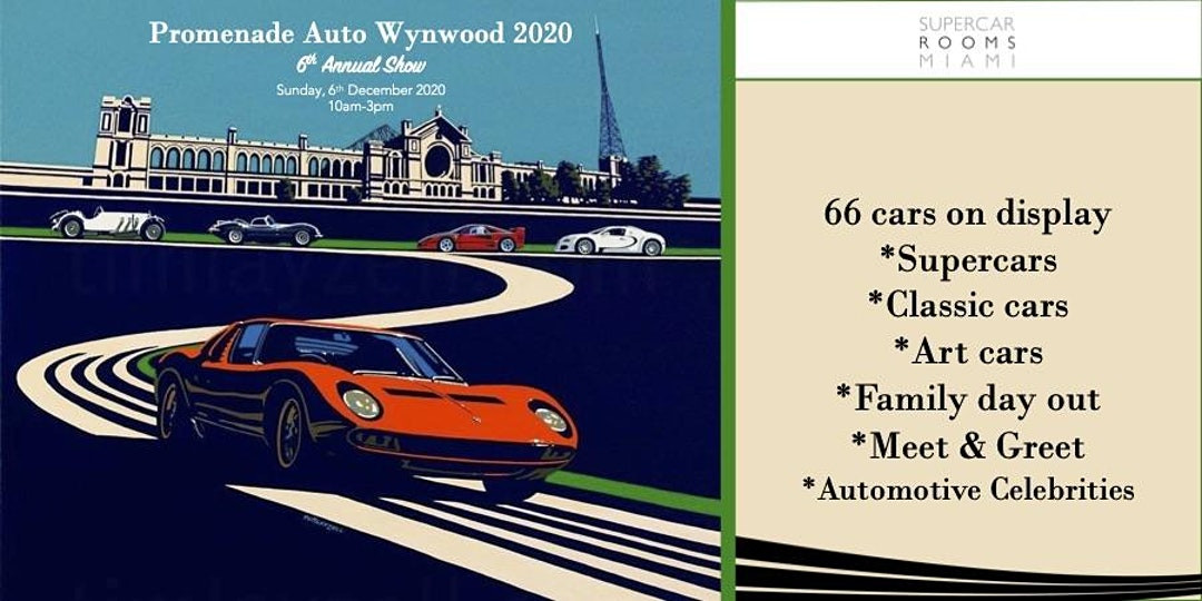 ART BASEL FREE CAR SHOW PROMENADE AUTO WYNWOOD miami 2020