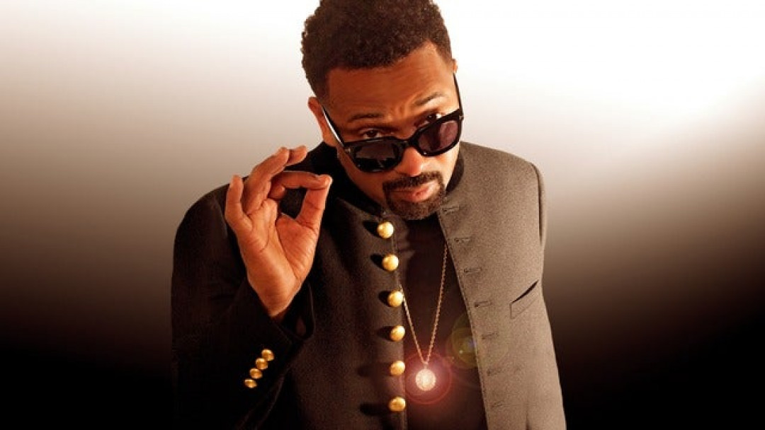 April Fools Comedy Show At Madison Square Garden Mike epps , Gary owens