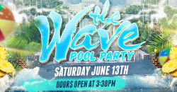 The Wave Pool Party miami 2020 W/ Dj jazzy jeff
