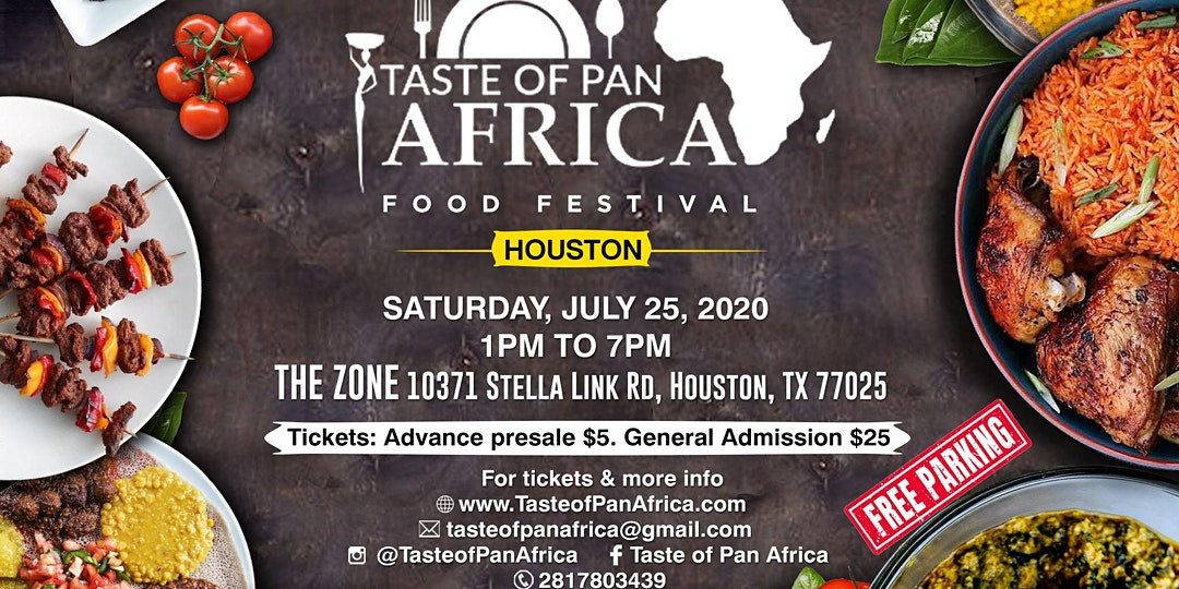 Taste of Pan Africa Food Festival in Houston