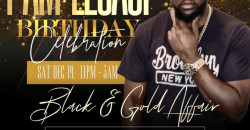 Big Birthday Celebration for I AM LEGACI | Black and Gold Affair
